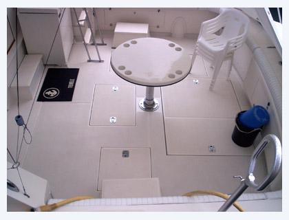 Cockpit Deck Soles For Bertram Yachts High Tide Marine